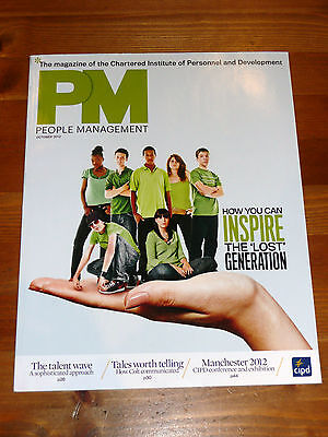 Pm People Management Mag Oct 2012 Inspire The Lost Generation Healthcare Talent