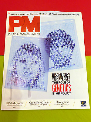 Pm People Management Mag Jun 2012 Hr Dashboard Genetics Bullying Harassment