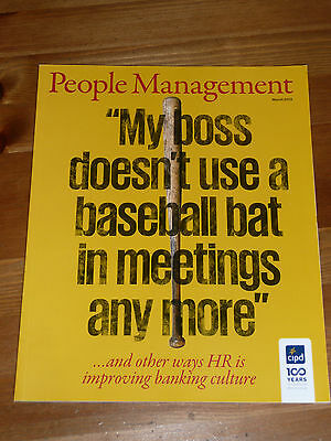 Pm People Management Mag Mar 2013 Trusting Banks Corp Duplicity Work Programme