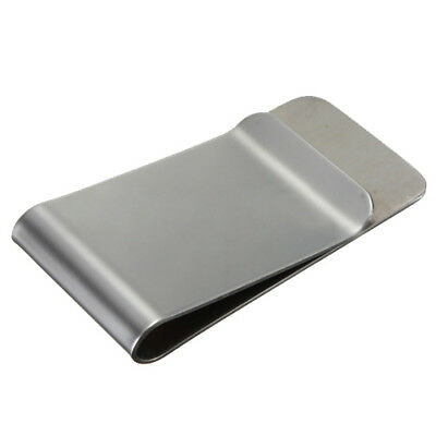 3 pcs Classic short money money clip in stainless steel money clip SS