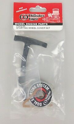 Thunder Tiger PN0236 Starting Wheel Cover Set Dual Pull Start System For MTA4