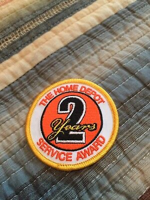 Home Depot 2 years Service Award Patch