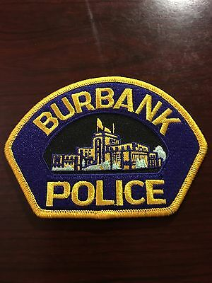 Burbank Police Department Shoulder Patch