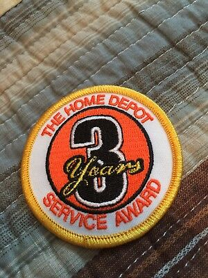 Home Depot Service Award 3 Years