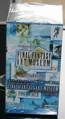 Final Fantasy Art musem cards first edition box (anime japan)