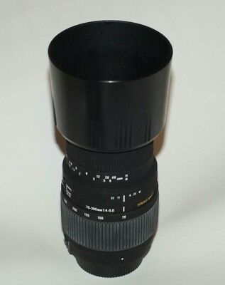 Sigma DG 70-300mm F/4-5.6 Lens For Nikon
