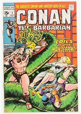 Conan the Barbarian #7 (Marvel, 1971) Condition: NM-....