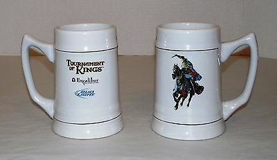 Excalibur Hotel & Casino Las Vegas/Bud Light/Tournament Of Kings Souvenir Mugs