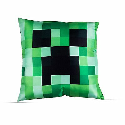Large - New Minecraft Game Comfy Cushion Pillow Boys Kids Childrens Bedroom Gift