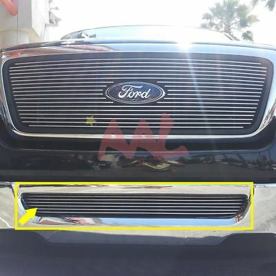 AAL 2006 2007 2008 Ford F-150 1Pc Bumper Billet Grille Insert