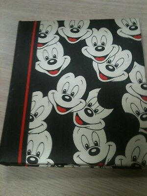 Vintage Mickey Mouse Address And Telephone Book (1982)