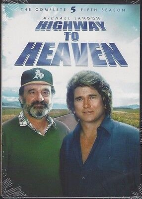 HIGHWAY TO HEAVEN: The Complete Fifth Season (DVD, 2014, 3-Disc Set) - NEW