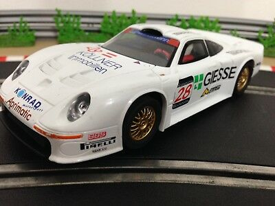 scalextric car porsche 962 le mans no1 white c444 picclick uk. Black Bedroom Furniture Sets. Home Design Ideas
