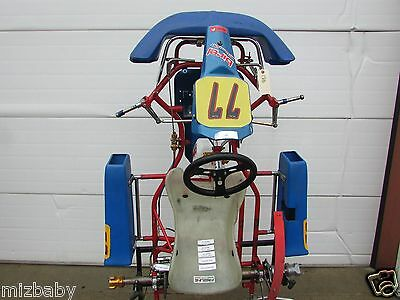 Birel chassis used C28  cadet good for the starting racer as a 7-9 yr old
