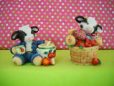 "Mary's Moo Moos  ""sweet Warm & Wonderful & I Love You A Bushel And A Peck""  2-Pc"