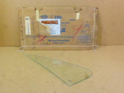 73-87 Chevy Truck NOS Vent Window Glass Passenger Side Wing LOF