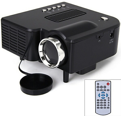 UC28 + HD Multimedia Portable Mini LED Projector Projecteur Home Theater HDMI VG