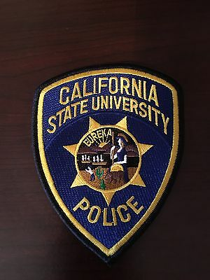 California State University Shoulder Patch