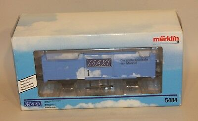 Marklin Hungary 1 Gauge Train Maxi Blue Boxcar Box Car 5484 New in Box