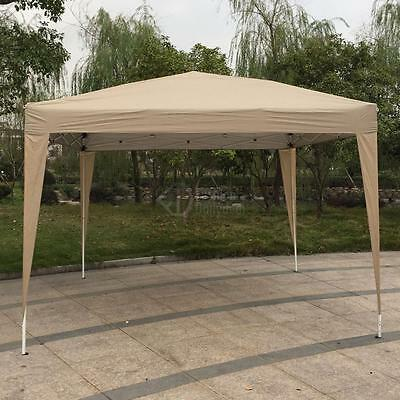 3X3M Pop Up Gazebo Wedding Tent Waterproof Canopy Awning Marquee W/Carry Bag
