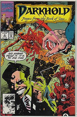 Darkhold 2 Book Of Sins Pages Her Name Is Marvel Comic Book Back Issue 1992 Mix