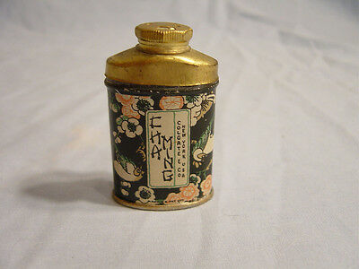 Cha Ming  Sample Talcum Powder Tin by Colgate & Co.