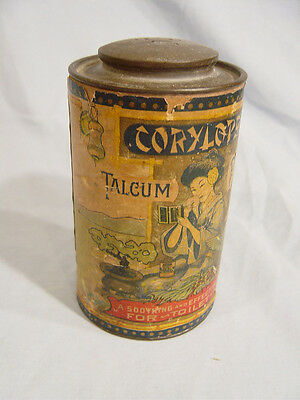 Corylopsis Talcum  Powder container  by Herman Chemical Co. of Brooklyn N Y