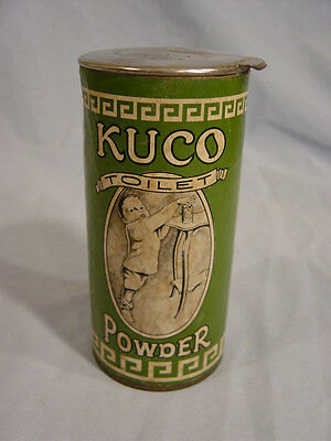 Kuco Toilet Powder  by  The Kuco Company. of Milwaukee Wis.
