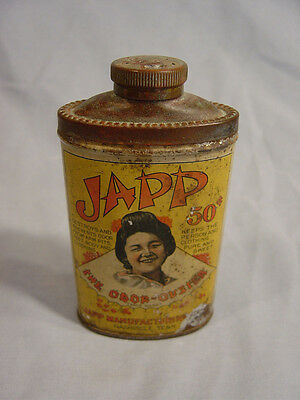 "Japp  ""The Odor Ouster""  Powder Tin  Nashville Tenn."