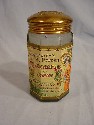 Oakley's Talc Powder Corylopsis of Japan  Bottle by  Oakley & Co. of New York