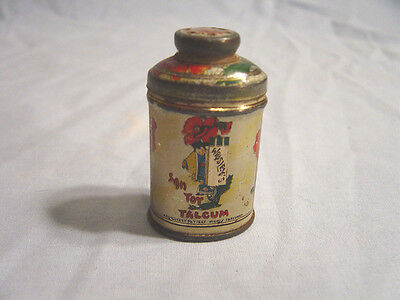 Wrisley's  Sample San Toy Talcum Powder Tin