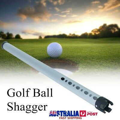 2017 Outdoor Aluminum Golf Ball Sports Practice Shagger Pick up Tube Retriever