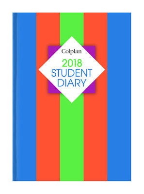 Colplan 2018 A5 Student Diary Diaries SC37 Week To View Thermal Bound