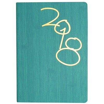 ***CLEARANCE*** 2018 Cumberland Vogue Diary Diaries A5 Day To Page - Green