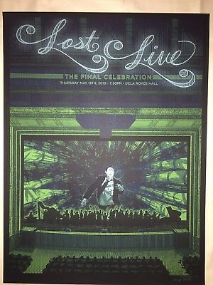 Kevin Tong LOST LIVE Jack Poster Print 1 of 300 Mondo SIGNED