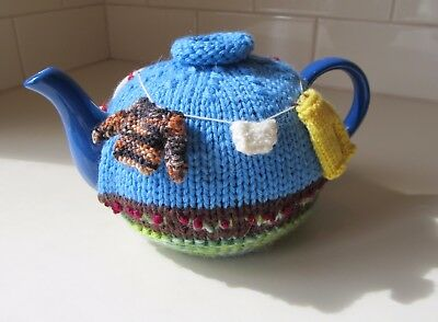 Hand knitted Tea Pot Cozy / Cosy