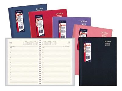 2018 Collins Vanessa Diary Diaries A6 Day To Page - Assorted