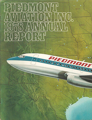 Piedmont Airlines annual report 1978 [4092]