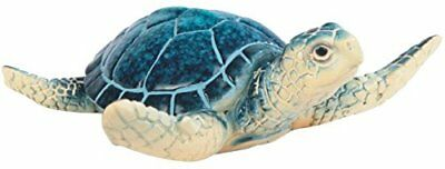 "StealStreet SS-G-54337 Small Blue Shelled Sea Turtle Figurine 3.75"" NO TAX"