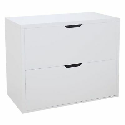 Horsens 2 Drawer Lateral Filing Cabinet White toy Storage