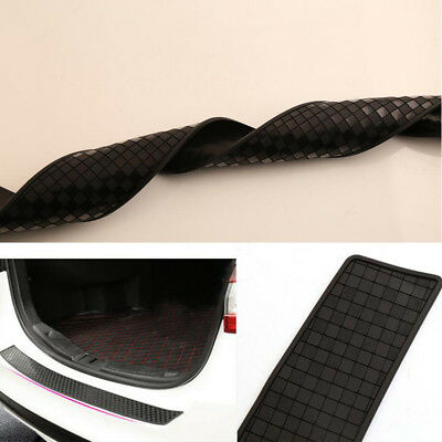Car Rear Bumper Protector Trunk Sill Plate lattice Guard Scratch Guard Pad Trim