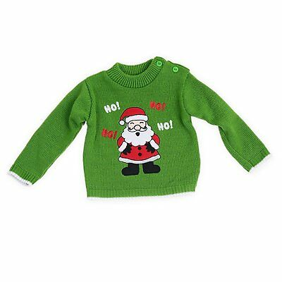 Baby Boys novelty Christmas Jumpers Sweaters Sizes for Newborns up to 9 Months