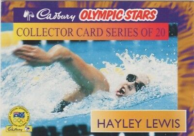 Australian Swimming Card - Hayley Lewis