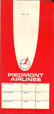 Piiedmont Airlines ticket jacket wallet 60's [4121] Buy 2 get 1 free