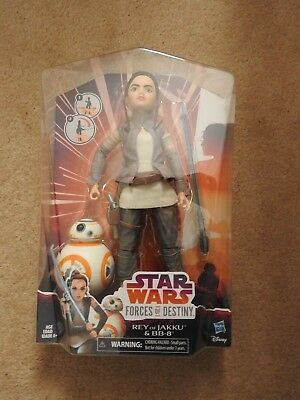 "Star Wars Forces of Destiny Adventure Figure Friends - Rey & BB-8 11"" Figure set"