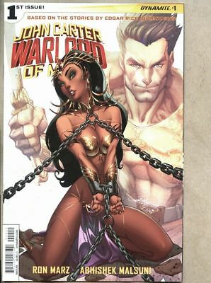 John Carter Warlord Of Mars #1-2014 nm- 9.2  Standard cover J Scott Campbell