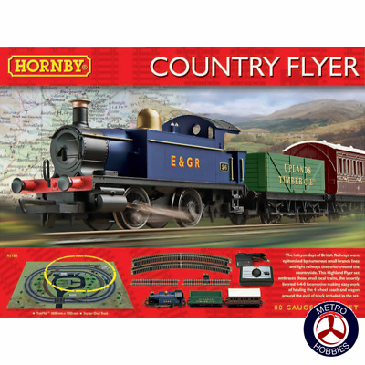 Hornby OO Country Flyer Electric Train Set HOR-R1188 Brand New