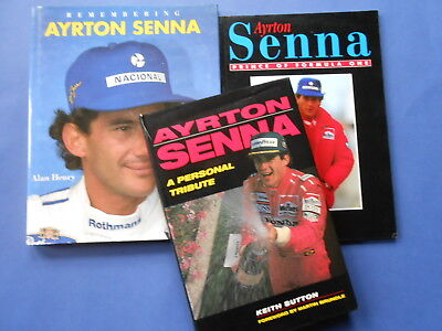## Ayrton Senna - Remembering, Prince Of Formula & A Personal Tribute **like New