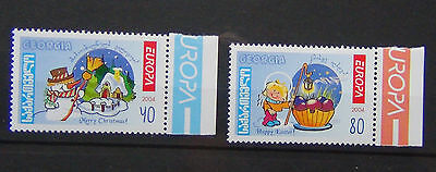 Georgia 2004 Europa set MNH