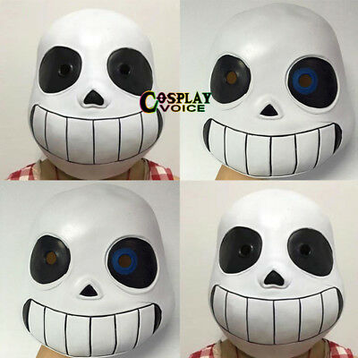 Undertale Sans Cosplay Halloween Mask Non-toxic Adult Child Fancy Party Props